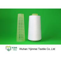 2/60S Plastic Cone Spun Type High Tenacity Polyester Yarn High Twist For Sewing Manufactures