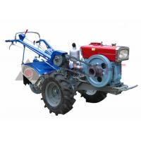 China Hand Two Wheel Walk Behind Tractor 8HP/12HP/15HP/22HP With Rotary Cultivator on sale