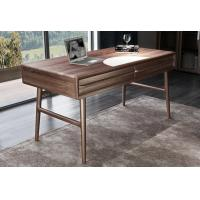 Quality American Dark Walnut Wood Furniture Nordic design of Writing Desk Reading table for sale