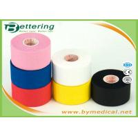 China First Aid Cotton Sports Strapping Tape For Shoulder , Athletic Support Tape Comfortable on sale