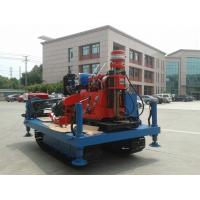 Spindle Rotary Crawler Drilling Rig Max Torque 2760 N.m , Mobile Drilling Rig Manufactures