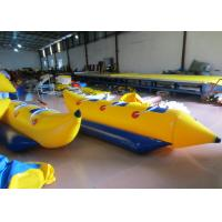 China Inflatable Water Banana Boat Towables for water park Small Blow Up Banana Boat Water Toy for children on sale