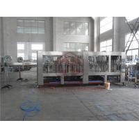Custom Made Automatic Water Bottle Filling System / Drinking Water Filling Machine Manufactures