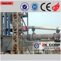 High efficiency energy saving cement rotary kiln , Limestone rotary kiln , Cement making plant Manufactures
