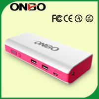 China ONBO multi-function car jump starter mini car jump starter power bank on sale