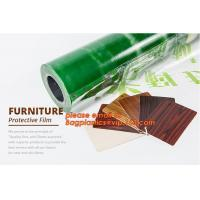 Clear Polythene PE Protective Stretch Film,PE Surface Protective Film For