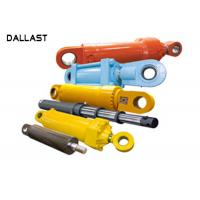Stainless Steel Double Acting Hydraulic Ram Welded Polished Chrome Piston Rod Manufactures