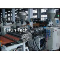 2016 High-Quality High Density PVC Half-crust Foamed Board Production Line Manufactures