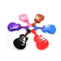 Electric Guitar Customized USB 2.0 Flash Drives XP ,Vista Support Manufactures