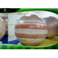 China Inflatable Advertising Balloons , Inflatable Moon Balloon , pvc Planet Balloon , Inflatable Helium Balloon for sale