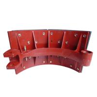 Steady Friction Performance Ductile Cast Iron Casting Brake Shoe Assembly Heavy Truck Parts Manufactures