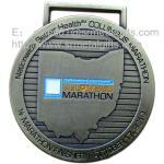 Custom metal Marathon finisher medals, metal half-Marathon awards medals wholesale, Manufactures