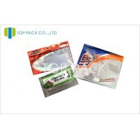 Water Proof Fishing Bait Resealable Pouches With Clear Window Manufactures