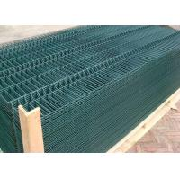 Heavy Duty Garden Wire Fencing / Welded Steel Wire Fencing Smooth Surface Manufactures