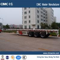 40 foot container price multi axel trailer cargo ship 50 ton flatbed trailer Manufactures