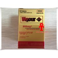 Men Herbal Sex Pills , Golden Vigour 300mg / 800mg Long Time Sex Tablets Manufactures