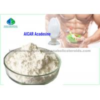 China Yellow Crystalline Solid Human Growth Hormone Peptide AICAR Acadesine Fat Burning SARM Powder on sale