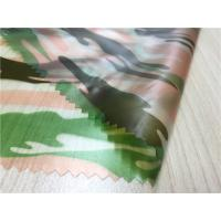 Camouflage Printed Waterproof Tpu Fabric 0.15mm Thickness For Boys' Coats