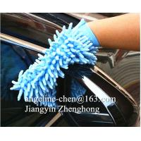 microfiber chenille cleaning gloves mitts Manufactures