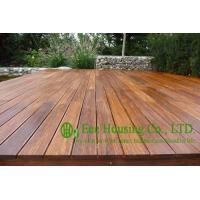 Carbonized color outdoor bamboo flooring matt finish for Bamboo flooring outdoor decking