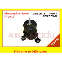 OEM 12361-0H110 Toyota Camry Camry Engine Mount Replacement Black Color Manufactures