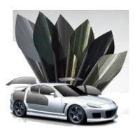 High UV Rejection Auto Glass Protection Film Green Color Break Proof Easy To Install  Manufactures