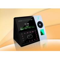 Palm Vein And Fingerprint Time Attendance Machine With POE Function Manufactures