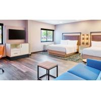 Quality American Style Laminate Oak Wood Luxury Hotel Bedroom Furniture For Four Point for sale