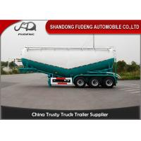 3 Axles Cement Semi Trailer , powder tank trailer , Dry Bulk Tank Trailers For Sale Dubai Manufactures
