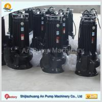 China swimming pool equipment vertical inline sewage suction pump on sale