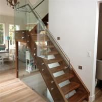 High quality glass railing for staircase with patch fitting Manufactures