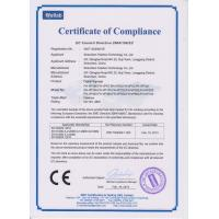 SHENZHEN WAN JIA AI ELECTRONIC TECHNOLOGY CO.,LTD Certifications