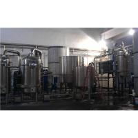 Evaporator Falling Rising Film Multiple Effect Evaporation System For Herb Extraction Manufactures