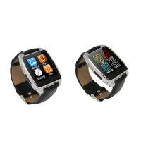 China Black / Gold / Silver BT 4.0 Bluetooth Smartphone Watch With 200mAh Lithium Polymer Battery on sale