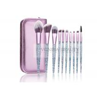 Quality Gorgeous Shiny Essential Makeup Brushes Bright Facial Tools Custom Design for sale