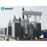 Waterproof Tank / Corrugated Radiators / Oil Immersed Power Transformer 60HZ KEMA Ceritified Manufactures