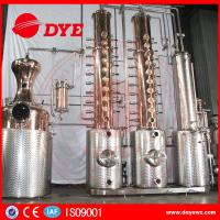 Automatic Vodka Gin Copper Distilling Equipment System Column Manufactures
