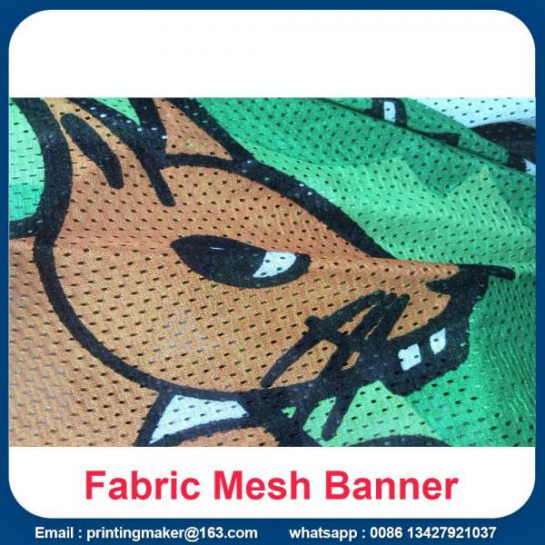120g fabric mesh banner