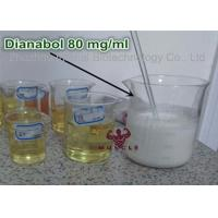 Oil Based Legal Dianabol Anabolic Steroids 80mg / Ml Liquid Oral Steroids For Mass Gain CAS 72-63-9 Manufactures