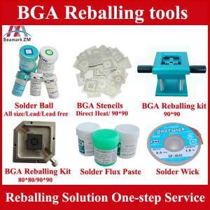 China BGA reballing accessories solder ball universal bga reballing kit on sale