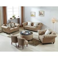 China Modern Grey Fabric Chesterfield Sofa , Soft Leather Chesterfield Sofa on sale