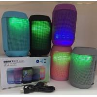 MY500BT Mini Bluetooth Wireless Speaker Portable Stereo Speakers 3D Sound led lights TF
