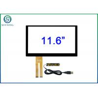 Buy cheap USB Interface 11.6 Inch Capacitive Touch Panel With ILI2302 Controller For 11.6