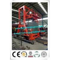 China Oil Tank Welding Rotator , Automatic Welding Positioner For Tank Seam Welding on sale