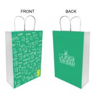 Environmental Christmas gift packing bag with deer pattern Manufactures