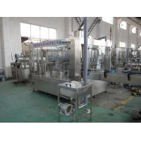 3 - in - 1 Monoblock Type Water Bottle Filling Machine For Drinking Water Factory Manufactures