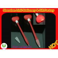 heart - shape LED toy lighted ball gift pens refill is abs plastic Manufactures