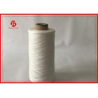 Knotless And Hairless Spun Polyester Thread For Weaving Luggage / Tent / Bag Manufactures