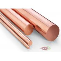 Insulated Oxygen Free Copper Round Bar Hi-Hardness Wear Proof Manufactures