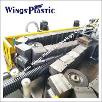 PVC Double Wall Corrugated Pipe Extrusion Machine, PVC Corrugated Pipe Extrusion Line Manufactures
